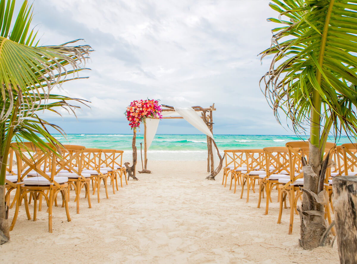 tulum beach weddings - Cozumel Wedding Photography