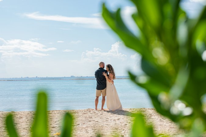 Brianna Andrew Mahekal Beach Resort Engagement 3 675x450 - Playa del Carmen Wedding Photography, Riviera Maya Wedding Photographer