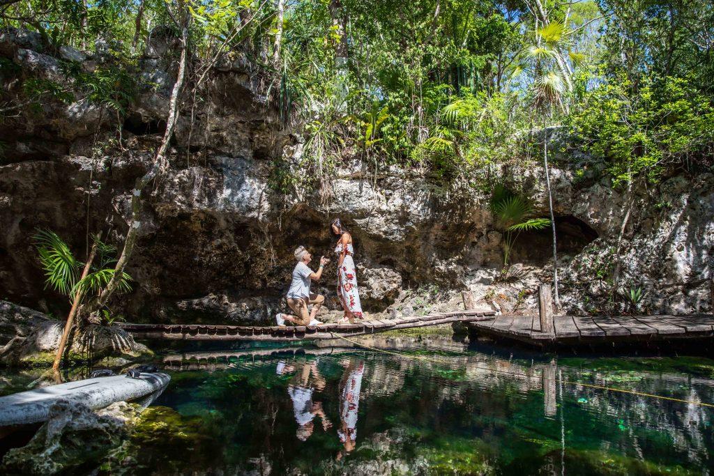Jen Ny proposal Xotik Ha Riviera Maya 2 1024x683 - What You Need To Know About Playa Del Carmen Engagement Photography