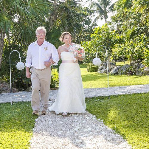 Megan and Dave Occidental Grand Xcaret 4 500x500 - megan & dave - occidental grand xcaret resort