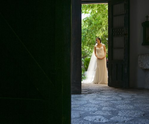 Newlyweds First look Grps 127 500x416 - Tara & Pablo - Xcaret Eco Park