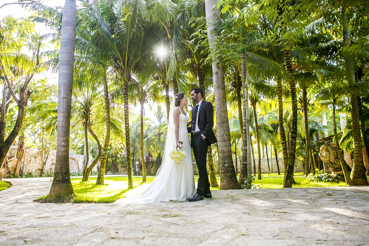 Newlyweds First look Grps 49 - Tara & Pablo - Xcaret Eco Park