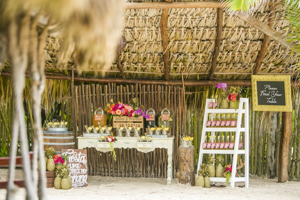 Shane Brandon Akiin Beach Club Tulum 42 1024x683 - 6 Cool Beach Wedding Decor Ideas That You'll Want To Steal!