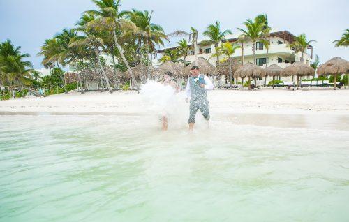 Stefaine Cory Secrets Akumal Riviera Maya 39 500x318 - Stefanie & Cory - Secrets Akumal