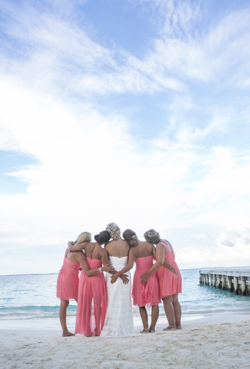 Michelle Brandon beach wedding riu cancun 01 2 1 500x739 - Michelle & Brandon - Riu Cancun