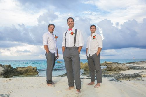 Michelle Brandon beach wedding riu cancun 01 2 500x333 - Michelle & Brandon - Riu Cancun