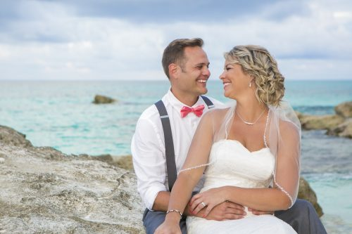 Michelle Brandon beach wedding riu cancun 01 6 500x333 - Michelle & Brandon - Riu Cancun