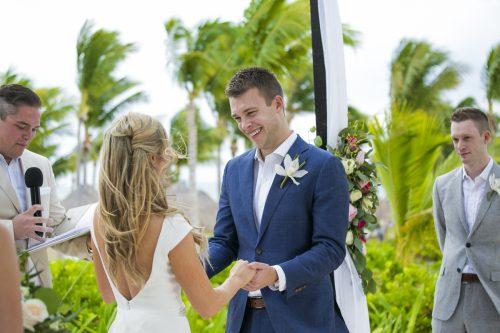 Amber Brenden beach wedding Finest Mujeres Cancun 01 4 500x333 - Amber & Brendan - Finest Playa Mujeres