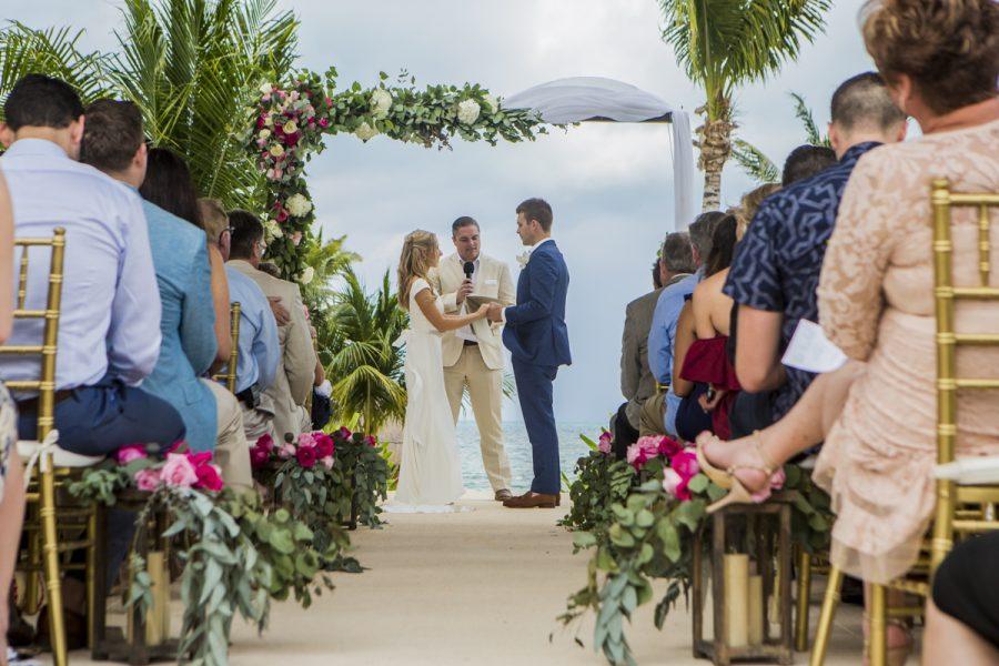 Beach Vow Renewal Ceremony: Vow Renewal Photographer Riviera Maya
