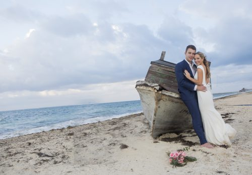 Amber Brenden beach wedding Finest Mujeres Cancun 01 7 500x348 - Amber & Brendan - Finest Playa Mujeres