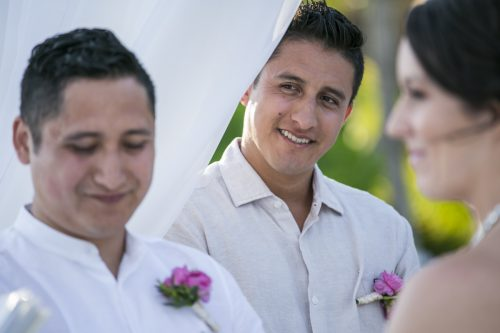 Amber Mauricio beach Wedding Grand Coral Playa del Carmen 01 6 500x333 - Amber & Mauricio - Grand Coral Beach Club