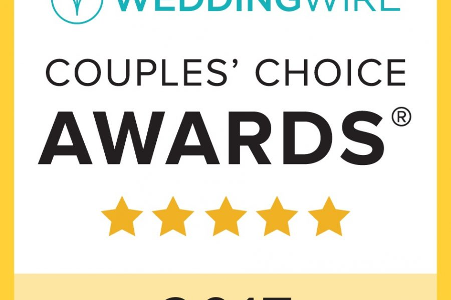 fun in the sun weddings receives 2017 wedding wire couples' choice award for second year in a row
