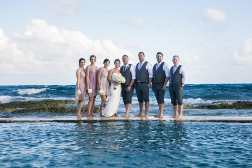 Katelyn Andrew beach wedding Grand Palladium riviera maya 01 12 500x333 - Katelyn & Andrew - Grand Palladium Resort