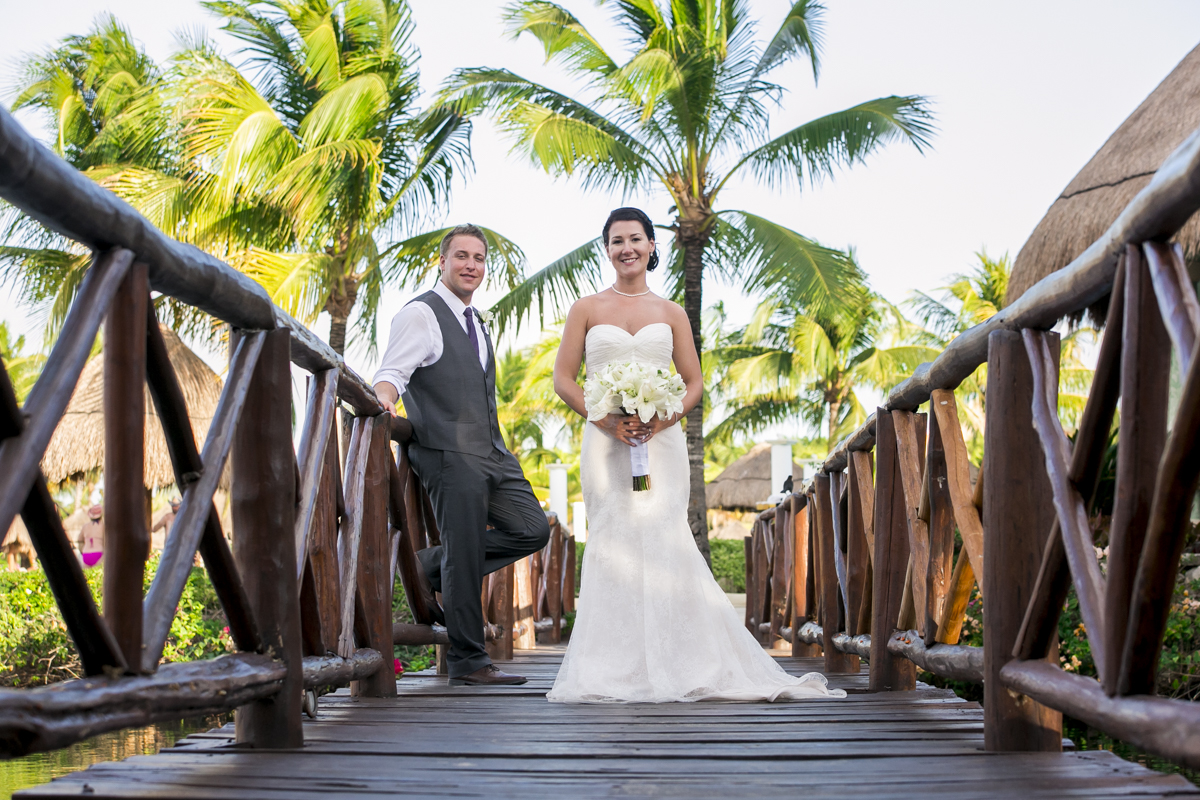 Katelyn Andrew beach wedding Grand Palladium riviera maya 01 17 - Katelyn & Andrew - Grand Palladium Resort