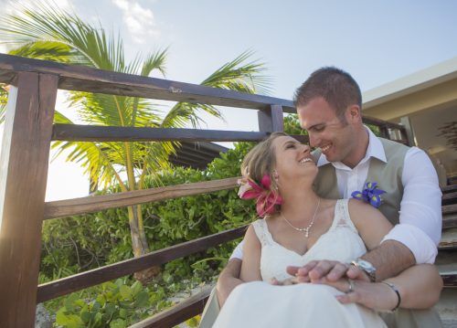 carmen bruce beach wedding now jade riviera maya 01 19 500x359 - Carmen & Bruce - Now Jade
