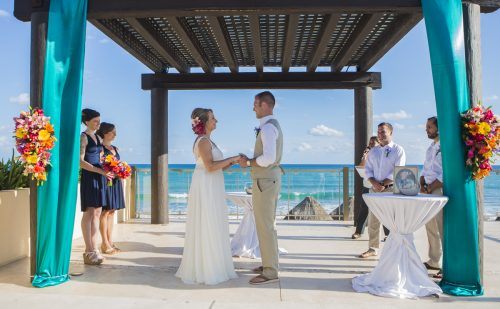 carmen bruce beach wedding now jade riviera maya 01 23 500x309 - Carmen & Bruce - Now Jade