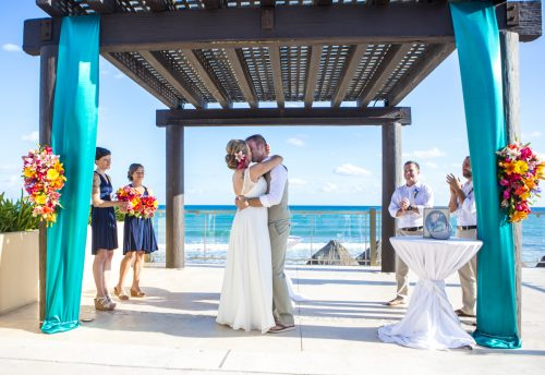 carmen bruce beach wedding now jade riviera maya 01 24 500x344 - Carmen & Bruce - Now Jade