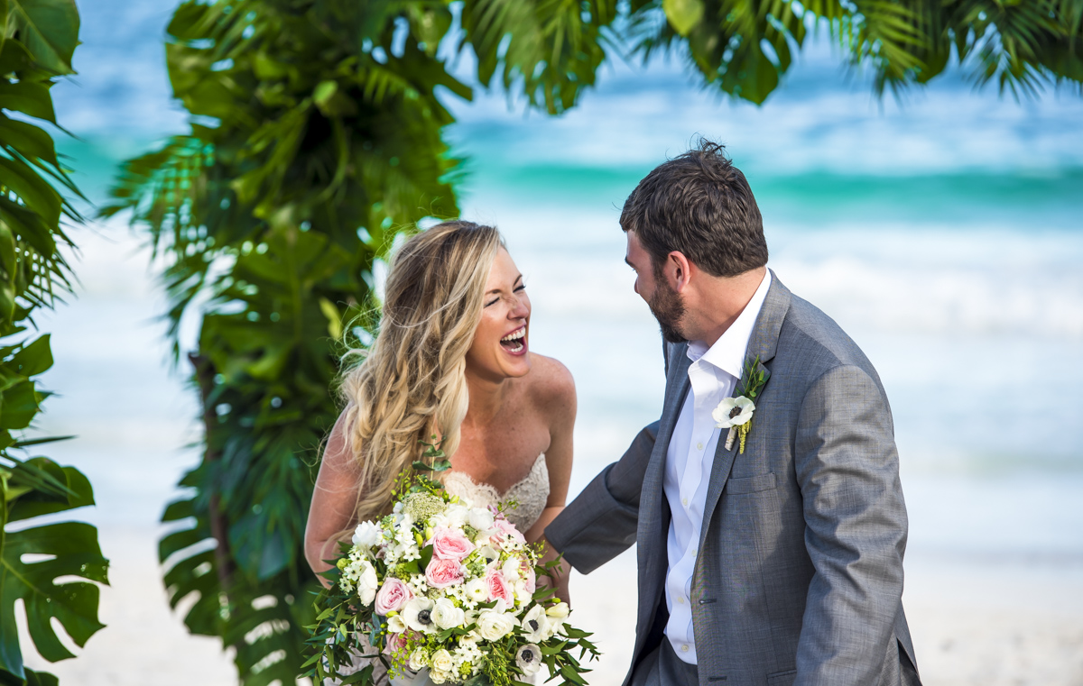 jessica brian beach wedding akiin beach club tulum 01 27 - Jessica & Brian - Ak'iin Beach Club