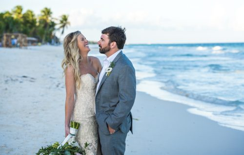 jessica brian beach wedding akiin beach club tulum 01 34 500x319 - Jessica & Brian - Ak'iin Beach Club