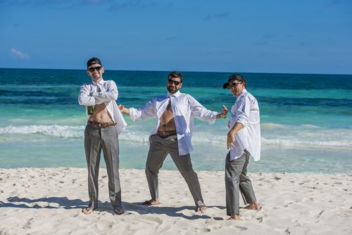 jessica brian beach wedding akiin beach club tulum 01 9 500x334 - Jessica & Brian - Ak'iin Beach Club