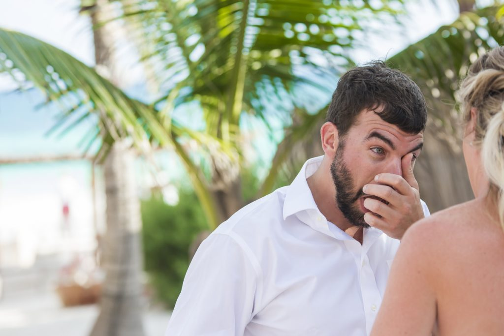 jessica brian beach wedding akiin beach club tulum 06 15 1024x683 - How Many Hours Should You Hire A Riviera Maya Wedding Photographer For?