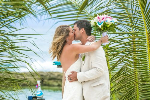 kayla logan beach wedding puerto aventuras mexico 01 31 500x333 - Kayla & Logan - Puerto Aventuras Private Villa
