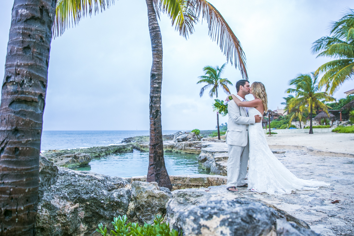 kayla logan beach wedding puerto aventuras mexico 01 37 - Kayla & Logan - Puerto Aventuras Private Villa