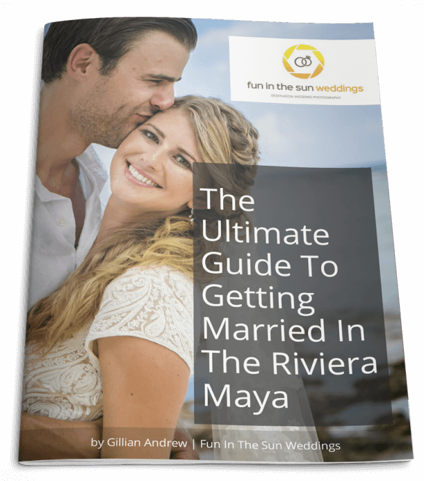 ebook cover lander 610x691 - How Many Hours Should You Hire A Riviera Maya Wedding Photographer For?