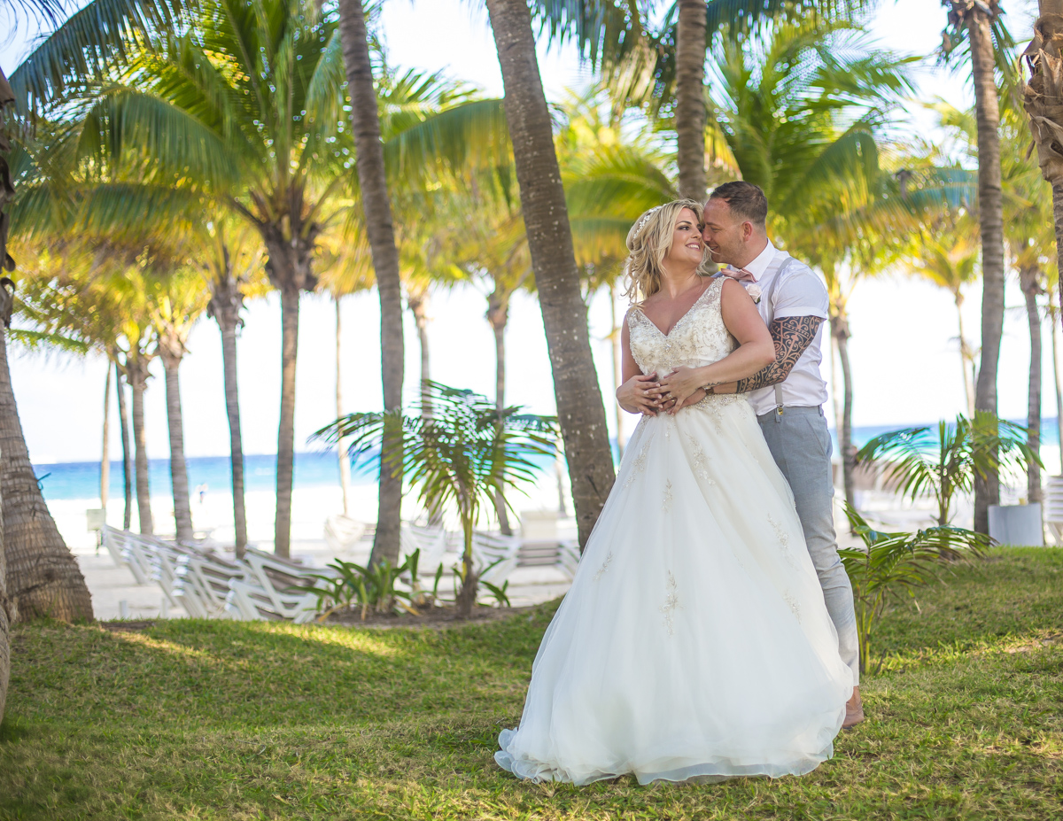 ashley vivian riviera maya wedding rui palace mexico 04 18 1 - Ashley & Vivian - Riu Palace Mexico