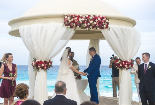 kate richard jw marroit cancun spa resort beach wedding 01 12 500x340 - Katia & Richard - JW Marriott Cancun