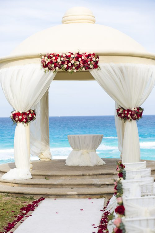 kate richard jw marroit cancun spa resort beach wedding 02 2 500x750 - Katia & Richard - JW Marriott Cancun