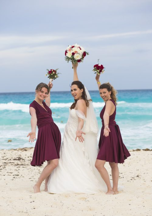 kate richard jw marroit cancun spa resort beach wedding 02 5 500x706 - Katia & Richard - JW Marriott Cancun