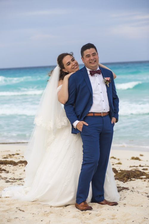 kate richard jw marroit cancun spa resort beach wedding 02 7 500x750 - Katia & Richard - JW Marriott Cancun