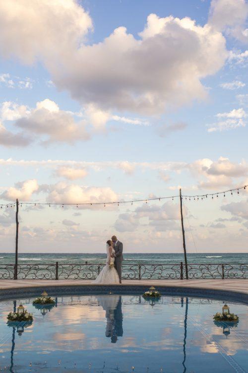 yesica jose beach wedding Villa La Joya Playa del carmen 01 14 500x752 - Yesica & José - Villa La Joya