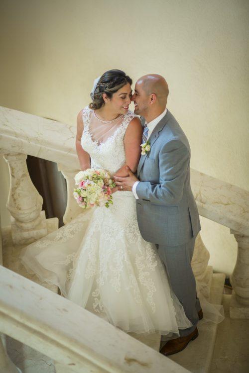 yesica jose beach wedding Villa La Joya Playa del carmen 01 9 500x750 - Yesica & José - Villa La Joya