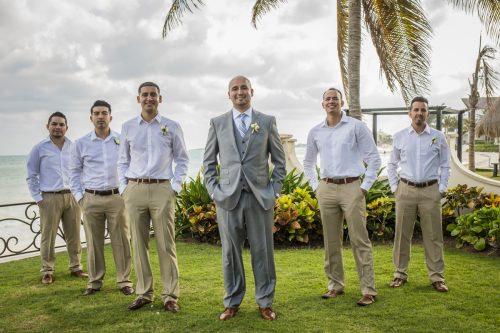 yesica jose beach wedding Villa La Joya Playa del carmen 02 12 500x333 - Yesica & José - Villa La Joya
