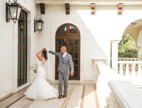 yesica jose beach wedding Villa La Joya Playa del carmen 02 14 500x381 - Yesica & José - Villa La Joya