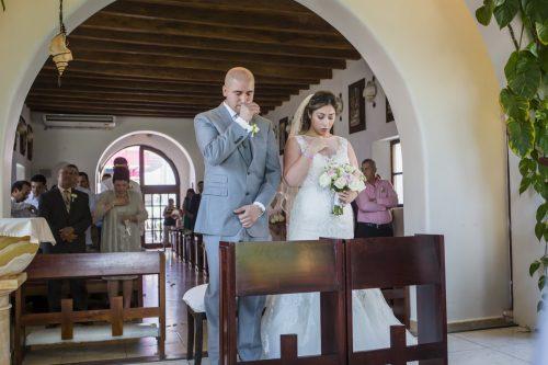 yesica jose beach wedding Villa La Joya Playa del carmen 02 6 500x333 - Yesica & José - Villa La Joya