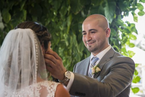 yesica jose beach wedding Villa La Joya Playa del carmen 02 7 500x334 - Yesica & José - Villa La Joya