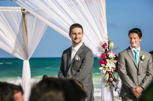 karee erik beach wedding iberostar paraiso maya riviera maya 01 12 500x333 - Karee & Erik - Iberostar Paraiso Maya