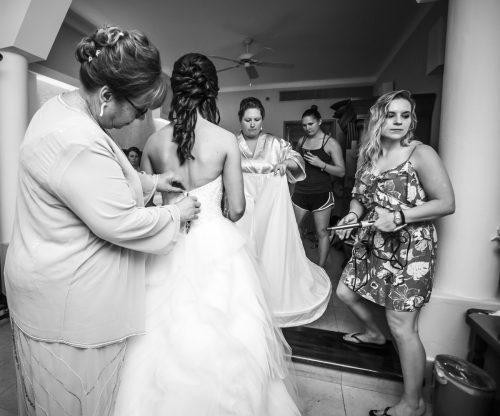 karee erik beach wedding iberostar paraiso maya riviera maya 01 4 500x416 - Karee & Erik - Iberostar Paraiso Maya