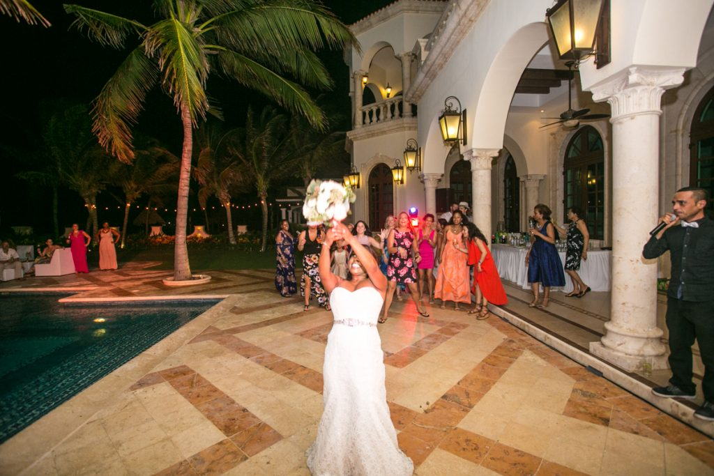 jessica shae riviera maya wedding villa la joya 01 41 1024x683 - The Bouquet And Garter Toss? Wedding Traditions And Superstitions Explained