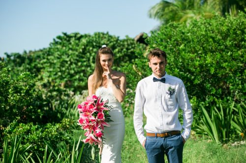 kelly simon playa del carmen wedding blue venado beach club 01 3 500x333 - Kelly & Simon - Blue Venado Beach Club