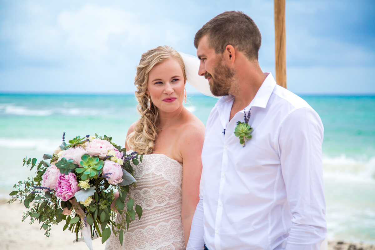 emily clay playa del carmen wedding grand coral beach club 01 16 - Emily & Clay - Grand Coral Beach Club