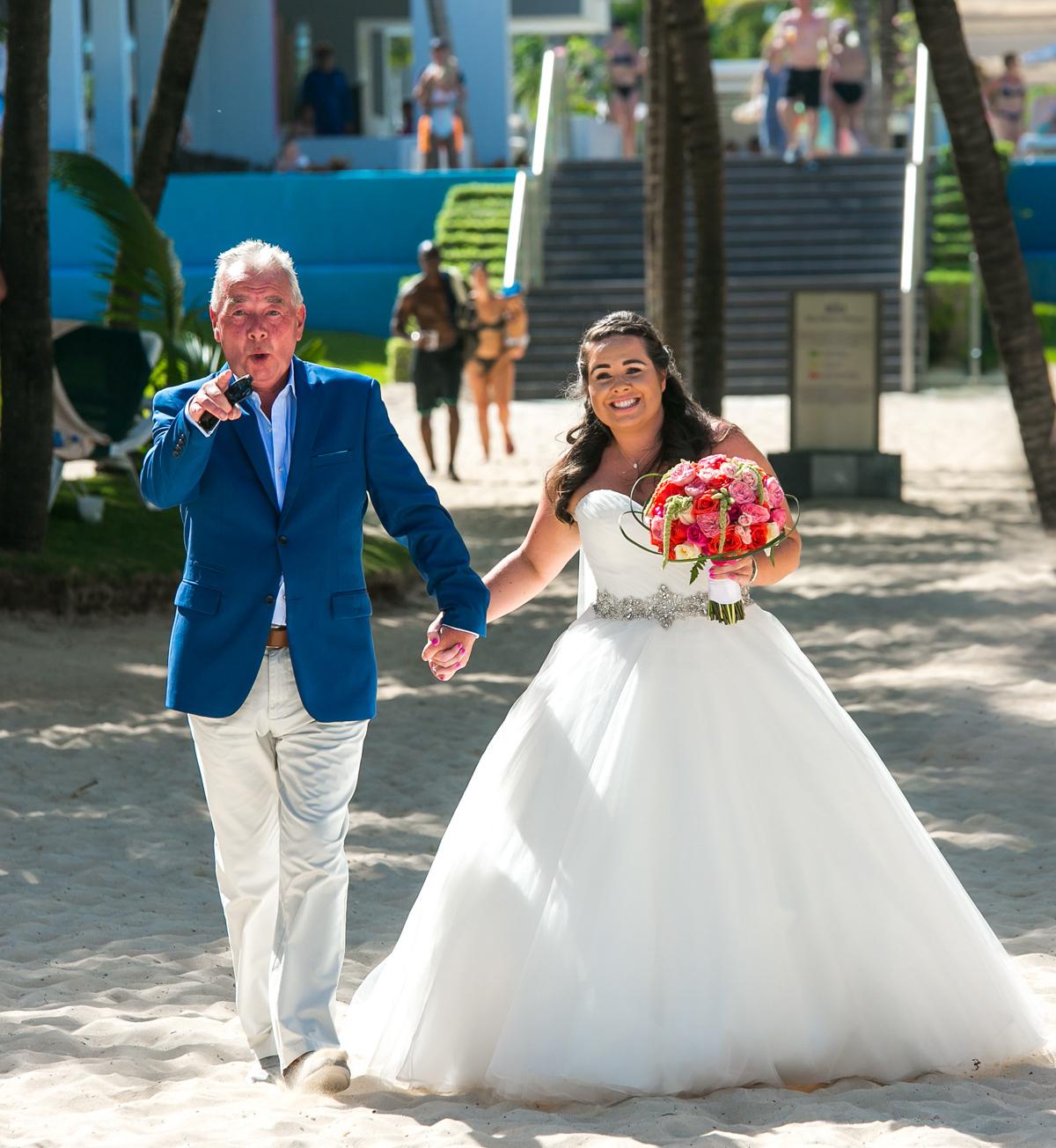 naomi daniel playa del carmen wedding riu palace mexico 01 9 - Naomi & Daniel - Riu Palace Mexico
