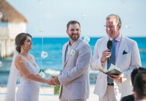 jessica harry beach wedding vidanta riviera maya 01 12 500x349 - Jessica & Harry - Vidanta Riviera Maya