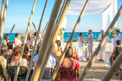 jessica harry beach wedding vidanta riviera maya 01 14 500x333 - Jessica & Harry - Vidanta Riviera Maya