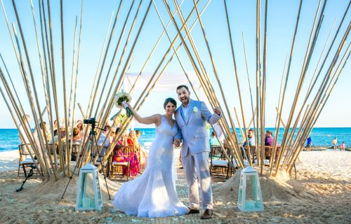 jessica harry beach wedding vidanta riviera maya 01 17 500x320 - Jessica & Harry - Vidanta Riviera Maya