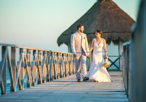 jessica harry beach wedding vidanta riviera maya 01 21 500x350 - Jessica & Harry - Vidanta Riviera Maya