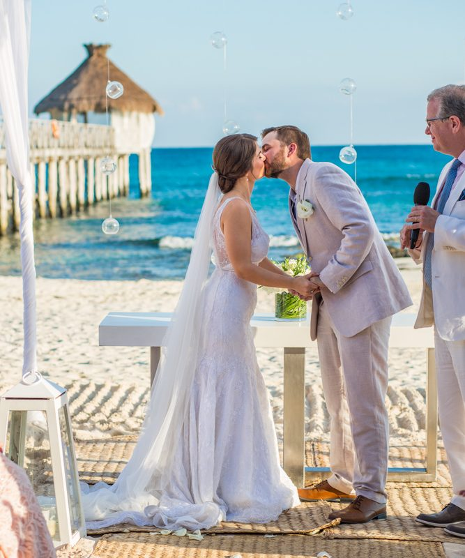 jessica harry beach wedding vidanta riviera maya 02 5 667x800 - Tulum Wedding Photography